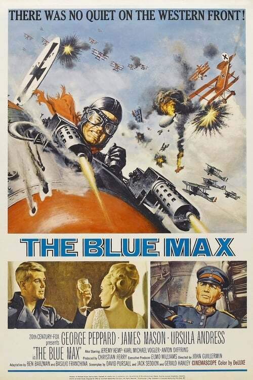 movie cover - The Blue Max