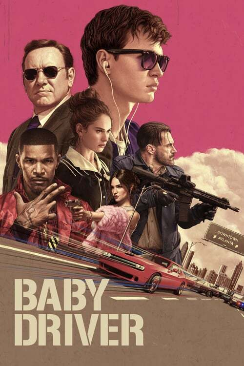 movie cover - Baby Driver