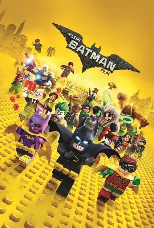 movie cover - The Lego Batman Movie