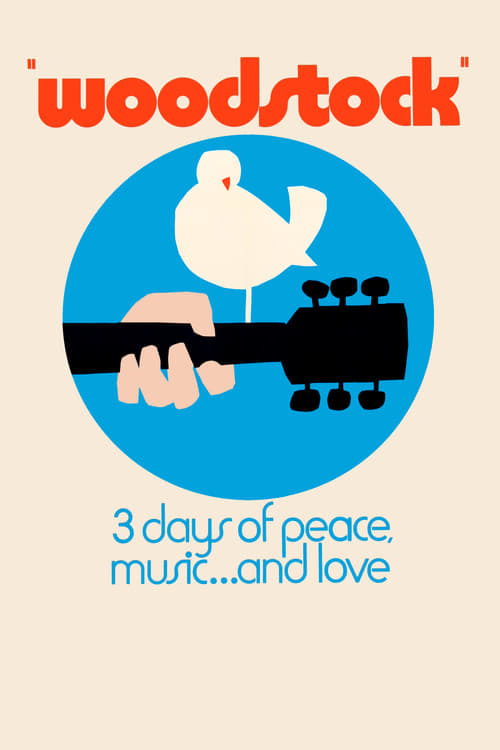 movie cover - Woodstock: Three Days Of Peace And Music