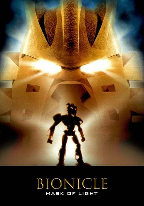 movie cover - Bionicle: Mask Of Light