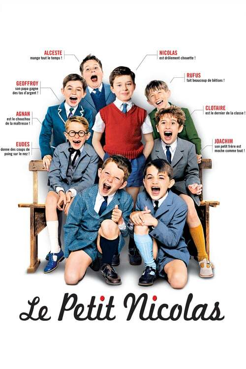 movie cover - Le Petit Nicolas