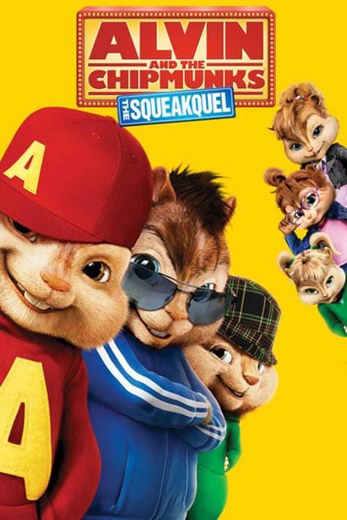 movie cover - Alvin En De Chipmunks 2: The Squeakquel