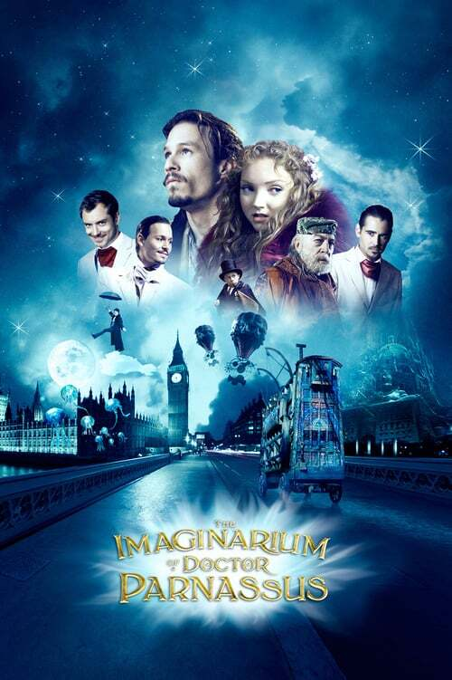movie cover - The Imaginarium Of Doctor Parnassus