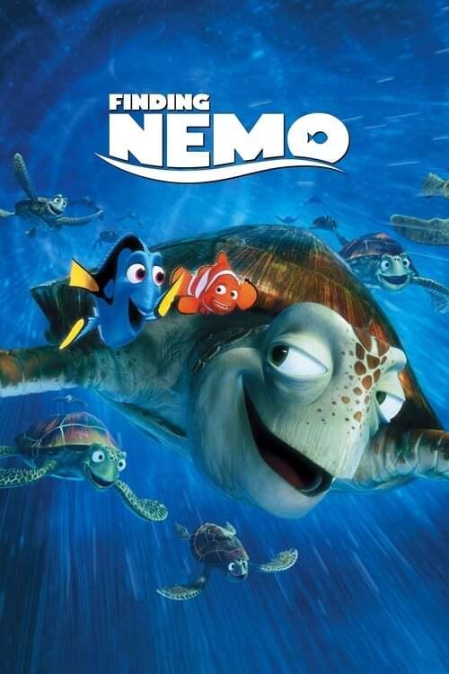 movie cover - Finding Nemo