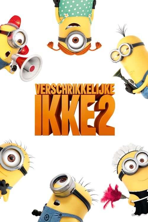 movie cover - Verschrikkelijke Ikke 2
