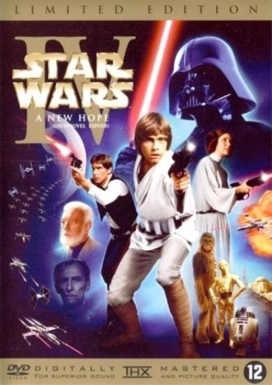 movie cover - Star Wars: Episode IV - A New Hope
