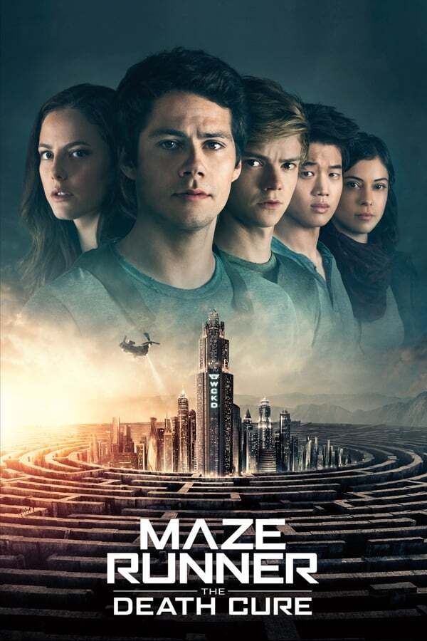 movie cover - Maze Runner: The Death Cure