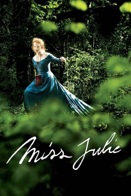 movie cover - Miss Julie