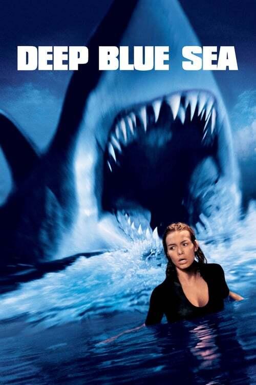 movie cover - Deep Blue Sea