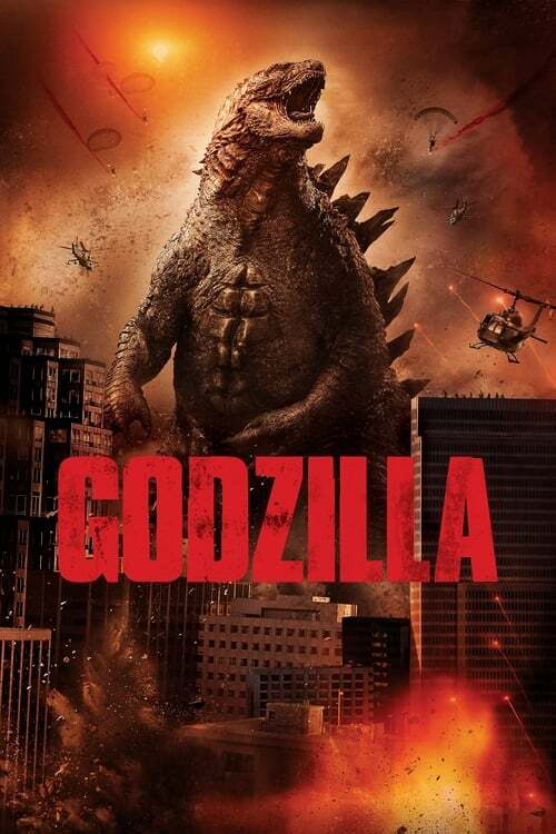 movie cover - Godzilla