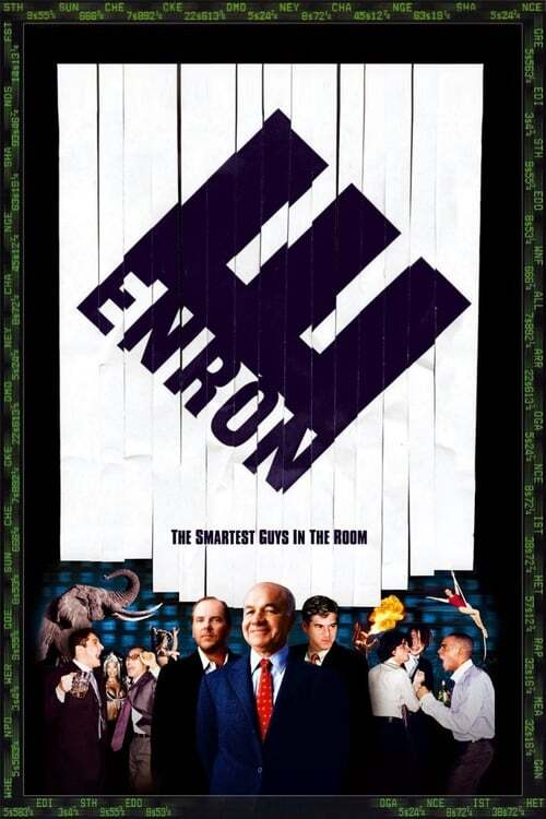 movie cover - Enron: The Smartest Guys In The Room