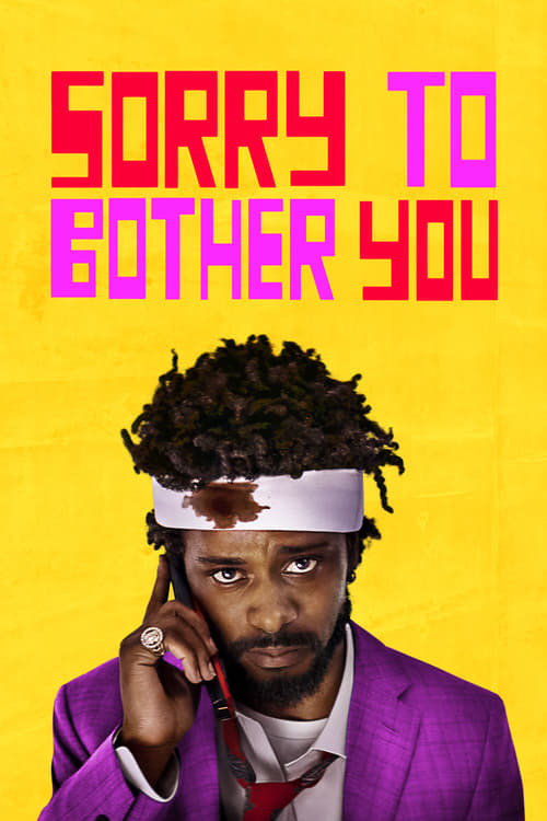 movie cover - Sorry To Bother You