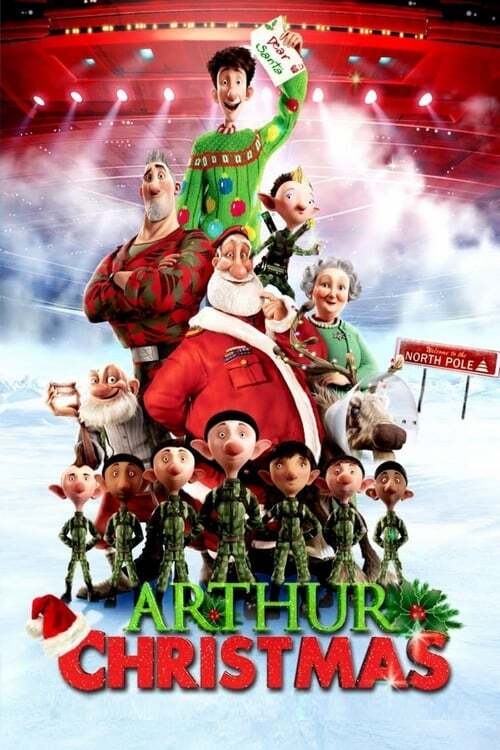 movie cover - Arthur Christmas