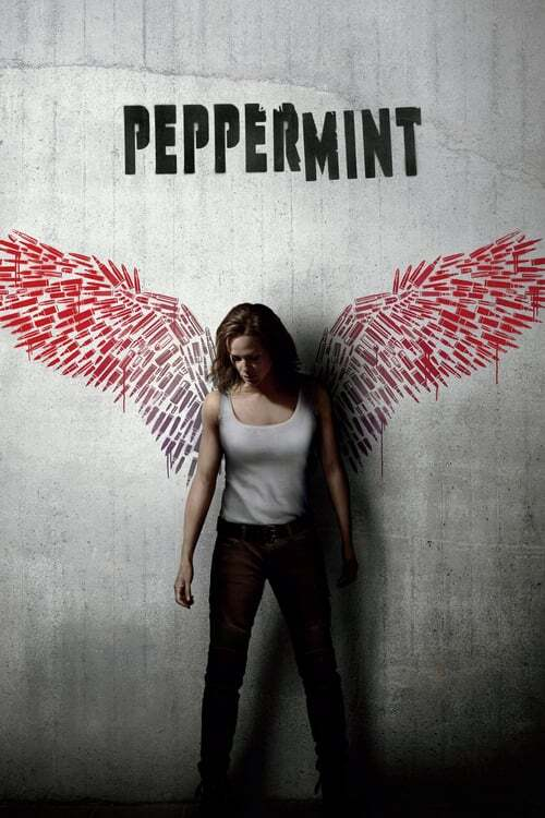 movie cover - Peppermint