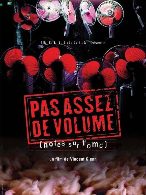 movie cover - Pas Assez de Volume