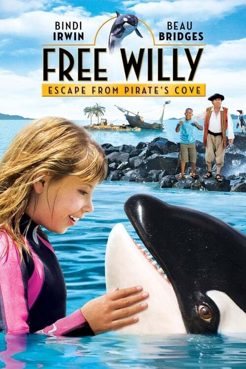 movie cover - Free Willy 4: Ontsnapping uit de Piratenbaai