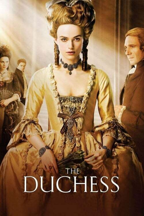 movie cover - The Duchess