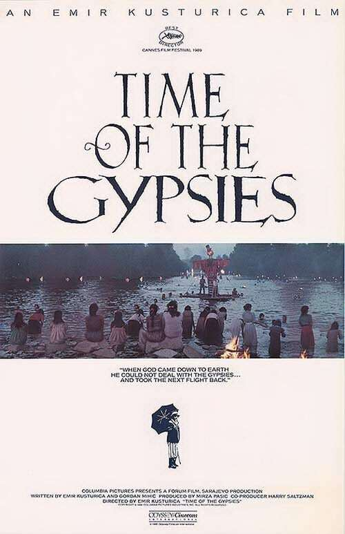 movie cover - Time Of The Gypsies