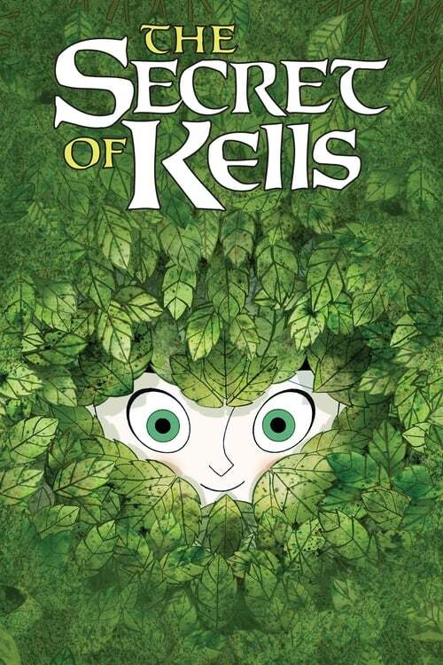 movie cover - Brendan And The Secret Of Kells
