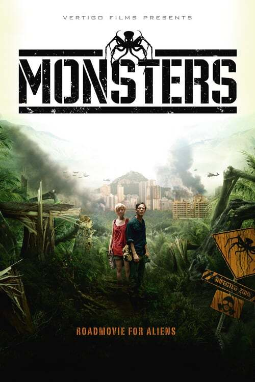 movie cover - Monsters