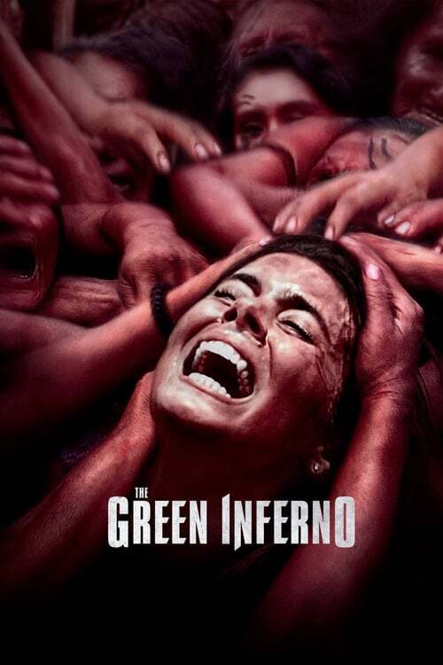 movie cover - The Green Inferno