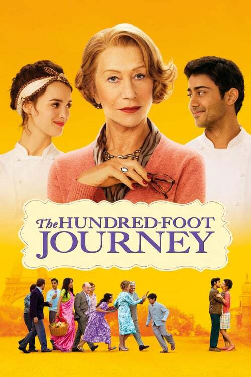 movie cover - The Hundred-Foot Journey