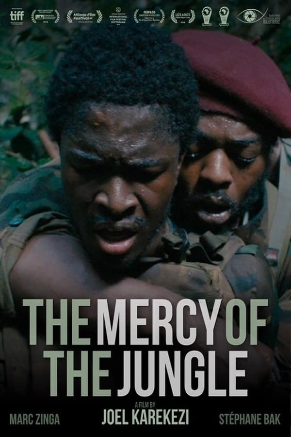 movie cover - The Mercy of the Jungle