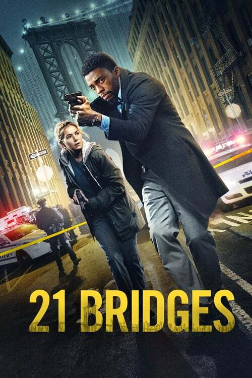 movie cover - 21 Bridges