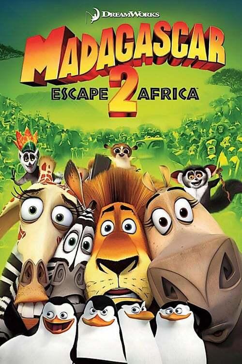 movie cover - Madagascar: Escape 2 Africa