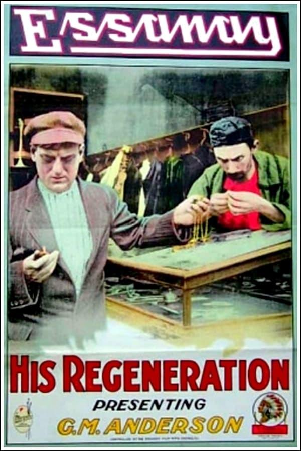 movie cover - His Regeneration