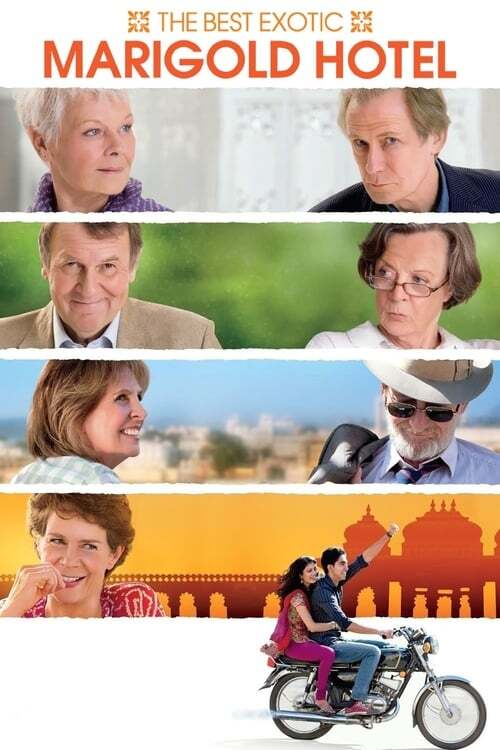 movie cover - The Best Exotic Marigold Hotel