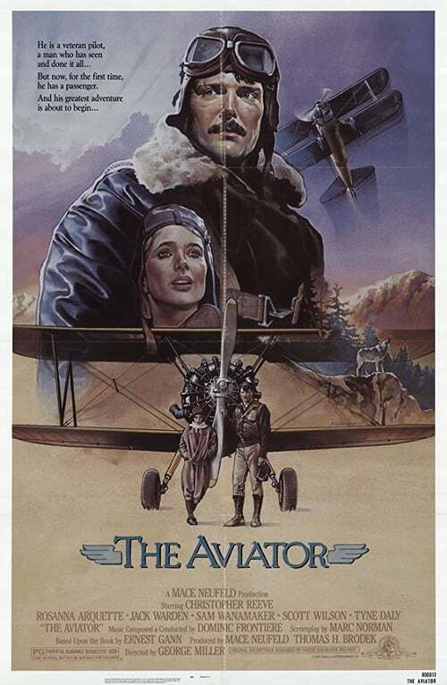 movie cover - The Aviator