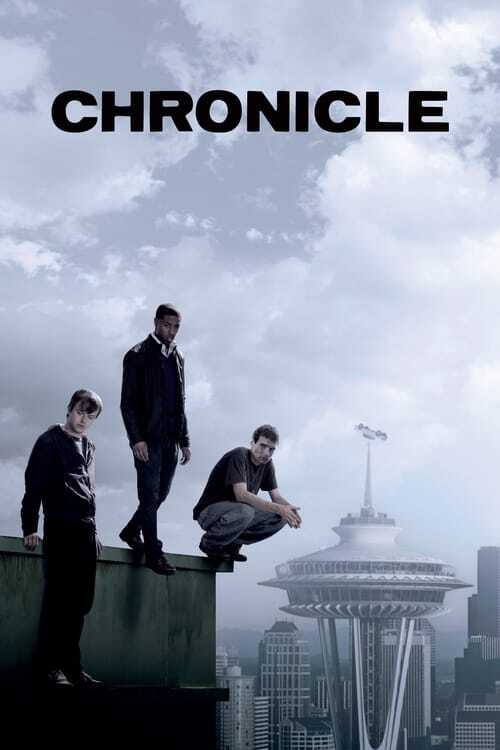 movie cover - Chronicle