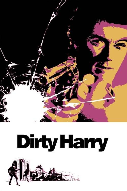 movie cover - Dirty Harry