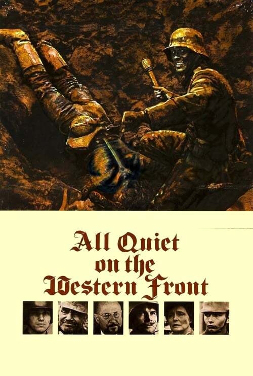 movie cover - All Quiet On The Western Front