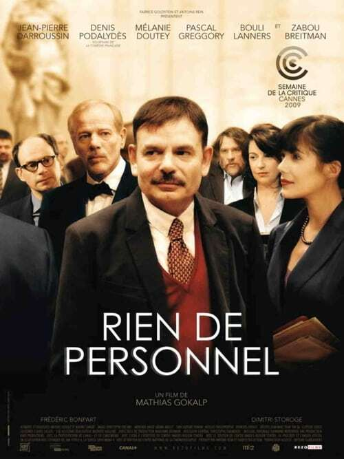 movie cover - Rien De Personnel