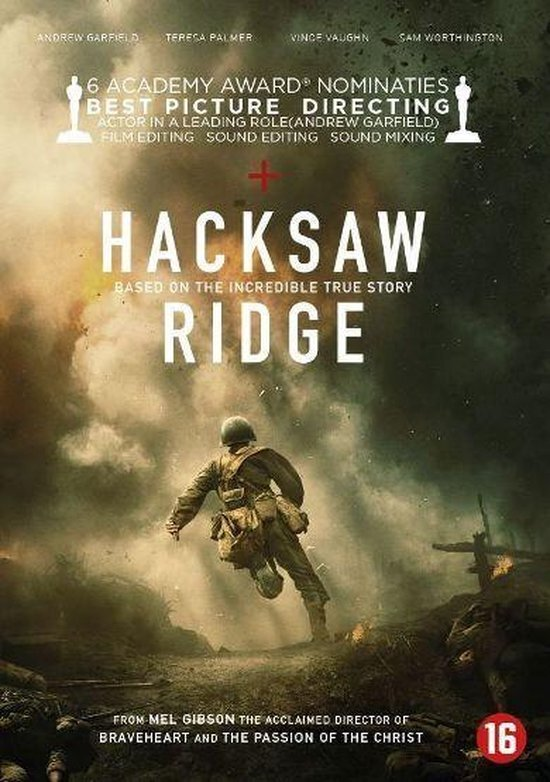 movie cover - Hacksaw Ridge