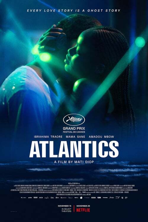 movie cover - Atlantique