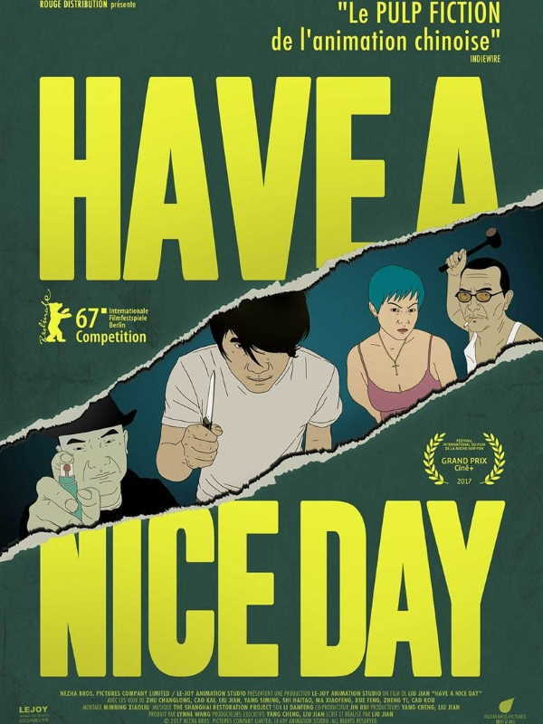 movie cover - Have a Nice Day