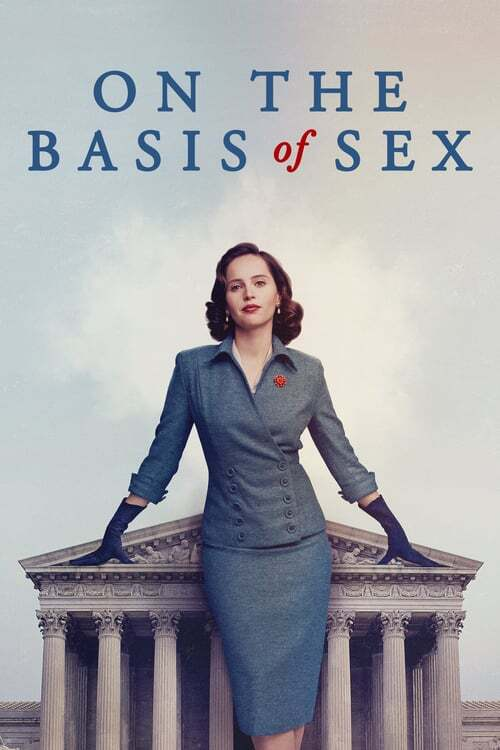 movie cover - On The Basis Of Sex