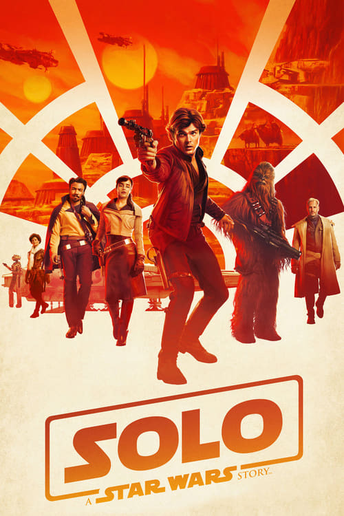 movie cover - Solo: A Star Wars Story