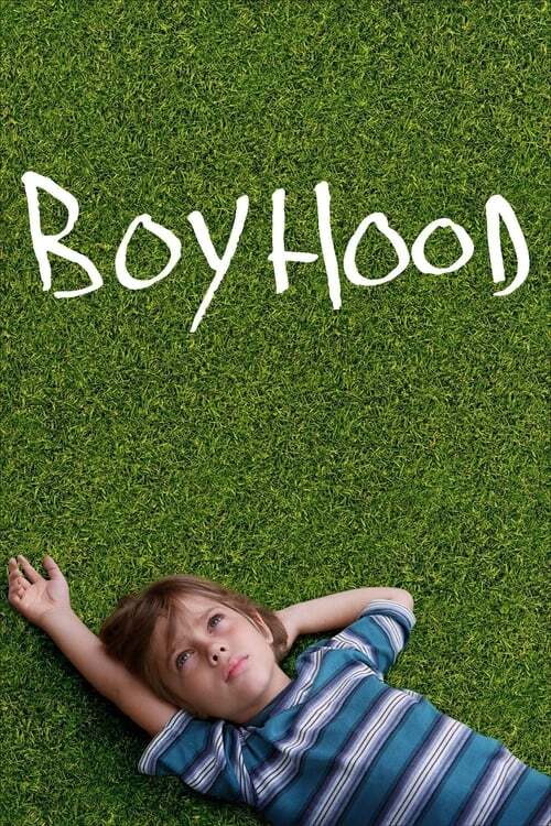 movie cover - Boyhood
