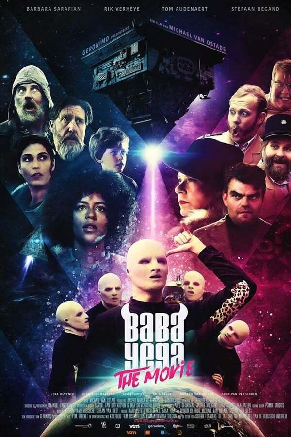 movie cover - Baba Yega The Movie