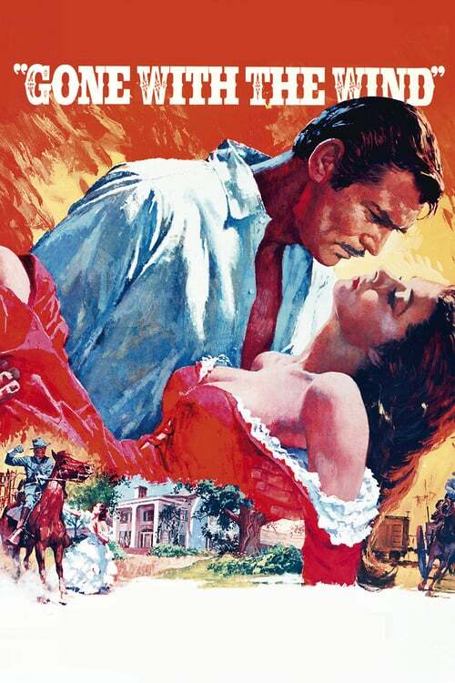movie cover - Gone With The Wind