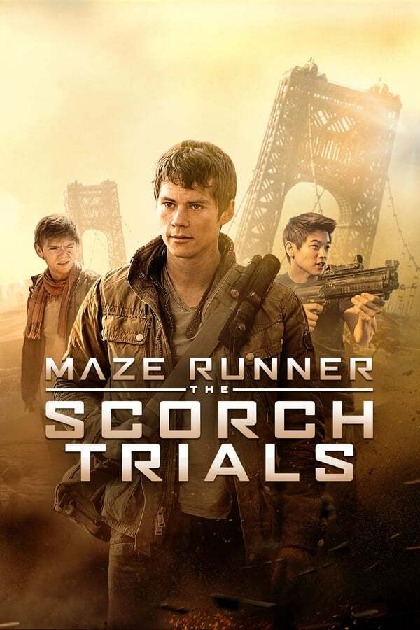 movie cover - Maze Runner: The Scorch Trials