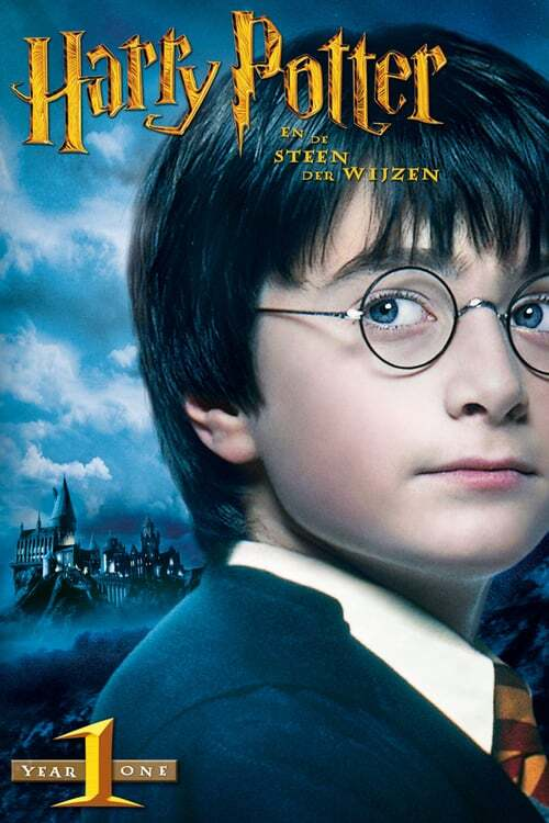 movie cover - Harry Potter En De Steen Der Wijzen