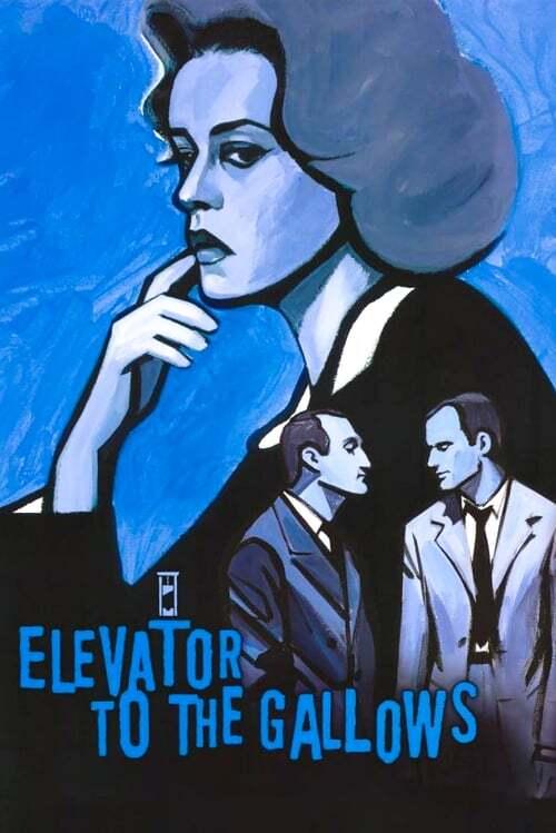movie cover - Ascenseur Pour L