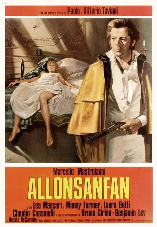 movie cover - Allonsanfan
