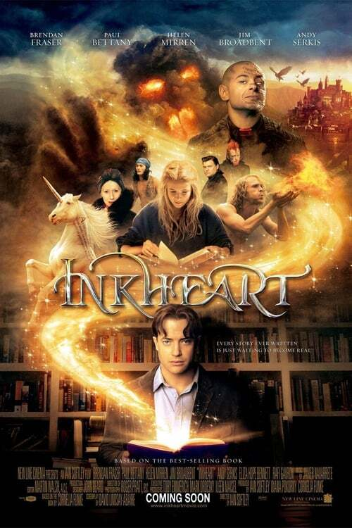 movie cover - Inkheart